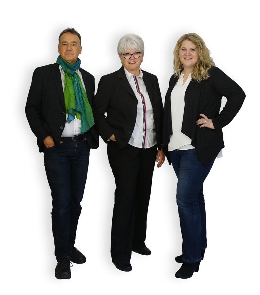 Team der jugendhilfe im Strafverfahren