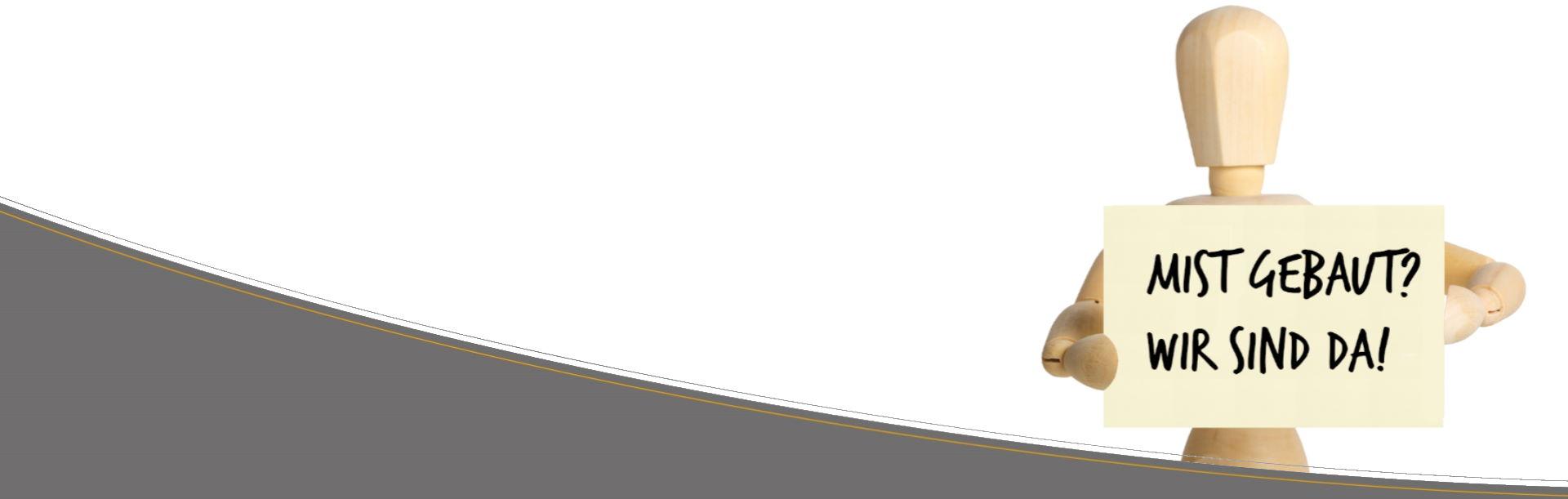 Gliedermännchen mit Schild